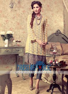 Pakistani Designer Party Dresses by Teena Durrani  Buy Online Teena Durrani Embroidered Dress 2014-2015 Collection in Affordable Prices on Dress Republic. by www.dressrepublic.com