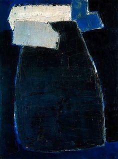 Nicolas de Staël: Great Blue Composition, 1950-51.