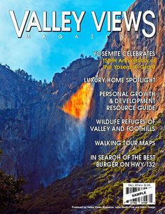 Proposed Cover 2014 Fall Valley Views Magazine Central Valley, Valley View, Good Burger, Walking Tour, Tours, Magazine, Fall, Cover, Autumn
