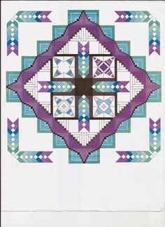 2015 - Cabin Medallion is a QAL that is so new, it isn't published yet on the Fort Worth Studio Blog! It's a gorgeous quilt designed by Deana of Dreamworthy Quilts. You can see details on her blog, bu...