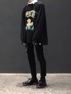 115 ways to look stylish wearing grunge outfits page 14 Edgy Outfits, Mode Outfits, Grunge Outfits, Fashion Outfits, Fashion Fashion, Edgy School Outfits, Fashion Tape, Hipster Outfits, Couple Outfits