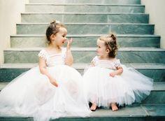 blush flower girl dresses Flower Girl Inspiration