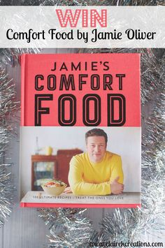 Win Comfort Food by Jamie Oliver - Claire K Creations Jamie Oliver, Comfort Food, Claire, Competition, Creations, This Book, Reading, Books, Christmas Ideas