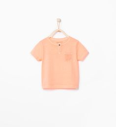 ZARA - KIDS - Organic cotton T-shirt with pocket