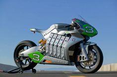 Galerías   MotoCzysz E1PC Eléctrica: Una moto de otro mundo   Solomoto