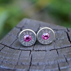 smith and wesson 38 special earrings | Bullet Earrings stud or post, Nickel Silver Smith & Wesson .38 Special ...