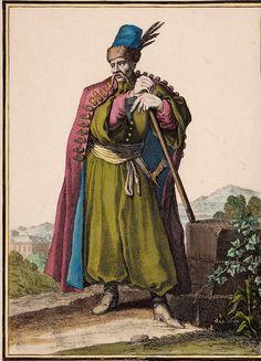 Caspar Luyken, Polski hajduk, koniec XVII w.