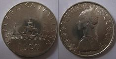 Valore Moneta 500 lire Caravelle in Argento