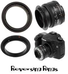 Macro Photography - Reversing Rings