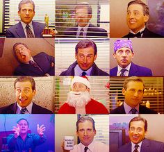 the many faces of Michael Gary Scott.