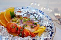 O delicioso e rosado peixe rico em ômega 3 dentre muitos outros benefícios, preparado embrulhado em papel alumínio, ou melhor no papillote. Uma receita fácil e prática com uma bela apresentação. Leia mais...