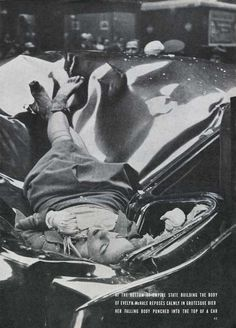 The Most Beautiful Suicide — Evelyn Mchale Leapt To Her Death From The Empire State Building, 1947 Joe Masseria, Empire State Building, Rare Historical Photos, Rare Photos, Historical Women, Vintage Photographs, Nikola Tesla, Old Pictures, Old Photos