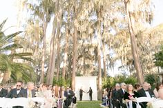 Outdoor Southern wedding in Florida  | Amy and Mikes Lakeside wedding | www.AmalieOrrangePhotography.com