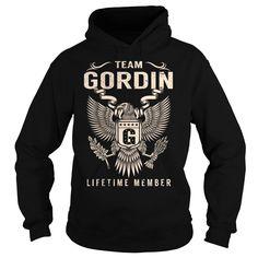 Team GORDIN Lifetime Member - Last Name, Surname T-Shirt