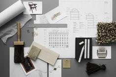 Still Life – Lotta Agaton Attic Bedrooms, Apartment Interior Design, Design Thinking, Bath Caddy, Color Inspiration, Minimalism, Palette, Home, Mood Boards