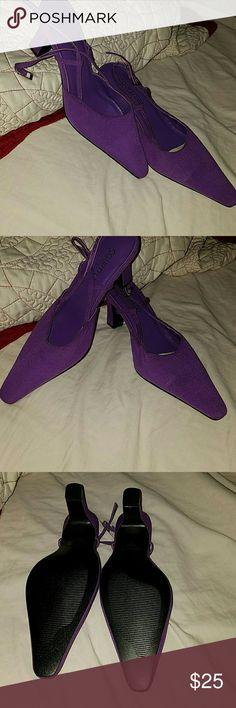 Couple detat heels purple New without tag coup detat  Shoes Heels