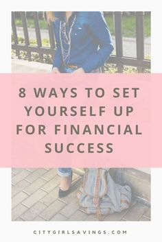 "Anyone can reach financial success, regardless of their situation. There are certain things you can do to tip the scale in your favor and set yourself up for financial success. CGS Founder Raya is sharing 8 of those things. New post ""8 Ways to Set Yourself Up for Financial Success"" up now! Financial freedom, frugal living, budgeting tips, women empowerment."