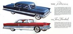 1956 Packard Patrician and Four Hundred