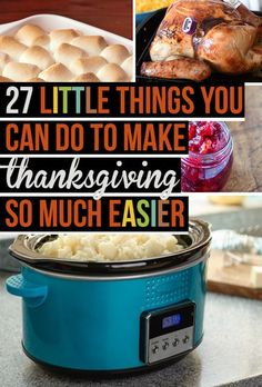 Are you planning for Thanksgiving? Are you able to make Thanksgiving in your sleep because you've done it so long or is this your first Thanksgiving? This article has 27 ideas to help you get…
