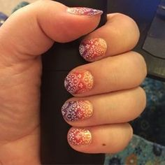 LAYERED LOOK!    Adams Favorite underneath of Whisper clear nail wrap     ~Jamberry Nail Wraps~