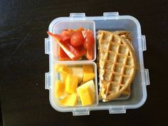 Back-to-School Lunch ideas - without the sandwich bread.