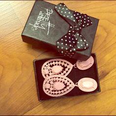 Pink earrings Pink dangly earrings, NEVER WORN Jewelry Earrings