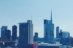 Milano wears #blue {here's my #hotelroom view from #achotel } . . . . . . #milan #milano #milanoAColori #milanodavedere #milanocity #milanodascoprire #milano_forever #lombardia_super_pics #architecture #architect #building #skyline #design #designer #instagood #architecturelovers #gaeaulenti #traveling #travelgram #travelling #italy #my_365 #roomwithaview #instatravel by _smartraveller