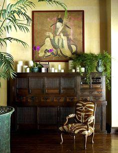 Home of Cheryl Teigs, Interior Design by Martyn Lawrence Bullard
