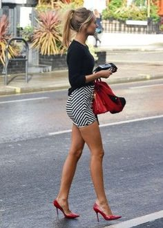 wearing mini skirt with tights - Google Search