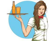 The Waitress by Akmal Abdurrahman