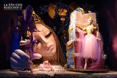 Decoración de Navidad en Nueva York escaparates Macys
