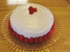 Best lemon raspberry cake recipe out there!  Not the Normal Teenage Fare: Lemon Raspberry Cake With Lemon Cream Cheese Frosting