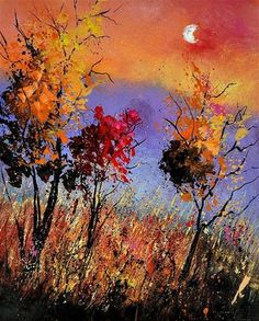 """autumn 451110"" - Original Fine Art for Sale - © Pol Ledent"