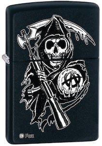 Sons Of Anarchy Reaper Zippo Lighter