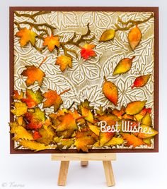 Autumn/fall card