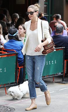 Olivia Palermo perfect casual wear!!