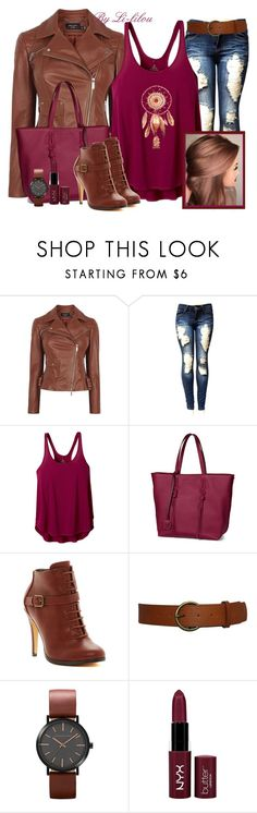 """Dreamcatcher"" by li-lilou ❤ liked on Polyvore featuring Karen Millen, prAna, Tod's, Michael Antonio and NYX"
