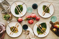adorable idée comment bien décorer nappe en lin fruit de grnage deco d automne idée deco table automne a faire soi meme