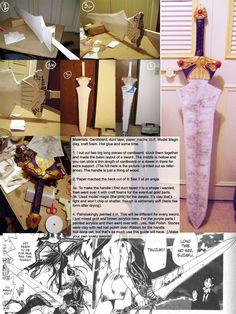 Cruddy guide for cosplay sword by rubyd.deviantart.com on @deviantART