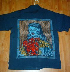 Miss Wong t-shirt by the cult brand Mambo Aloha Shirt, T Shirt, Keith Haring Art, Afraid Of The Dark, Vintage Hawaiian, Shirt Designs, The Incredibles, Culture, Artist