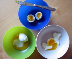 "What is the best, fastest, and most consistent method for soft-boiling an egg? Experiment in the ""Egg-cellently Cooked Eggs: The Process of Soft-Boiling an Egg"" food science Project Idea. [Source: Science Buddies, http://www.sciencebuddies.org/science-fair-projects/project_ideas/FoodSci_p046.shtml?from=Pinterest] #science #STEM #easter"