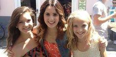Brooke, Laura Marano, and Paige