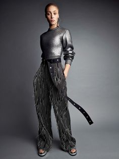 "#inspo #AdwoaAboah by #PatrickDemarchelier for #VogueUS #fashion #thefrankieshop #frankienyc #frankiegirl midnight-charm:  ""Adwoa Aboah photographed by Patrick Demarchelier for Vogue US May 2017  Fashion Editor: Camilla Nickerson  """