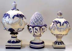Porcelana Brasil: pinhas - Luiz Salvador