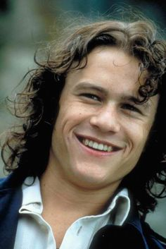 "Who doesn't love Heath Ledger in ""10 Things I Hate About You"" !?"