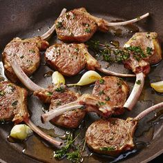 Pan-Seared Lamb Chops - Recipes - Sprouts Farmers Market