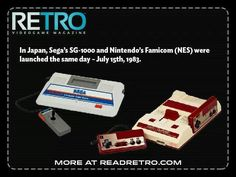 Identical release dates History Of Video Games, Sega Master System, Retro Video Games, Arcade, Dates, Computers, Gaming, Product Launch, Game