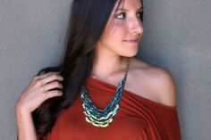 Tiered Ombre Necklace