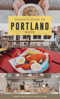 Foodie's Guide to Portland Maine - Where to eat and drink in Portland and all the best restaurants and coffee shop in babies flight hotel restaurant destinations ideas tips Bora Bora, Tahiti, Travel Usa, Travel Tips, Solo Travel, Travel Destinations, Travel Maine, Travel Ideas, Travel Portland