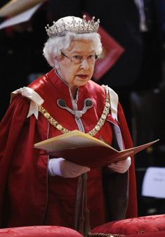 Queen Elizabeth II Photo - The Queen And The Duke Of Edinburgh Attend A Service For The Order Of The British Empire At St Paul's Cathedral